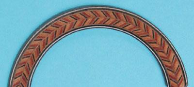 herringbone rosette