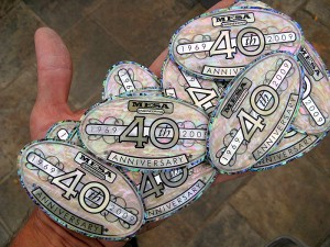 CNC cut solid shell emblems