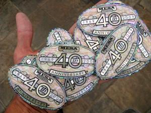 CNC cut solid shell emblems
