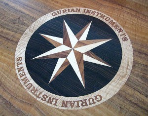 lasercut compass rose