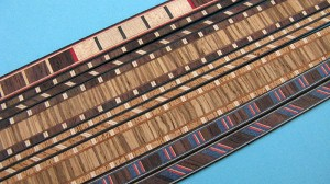 custom Gurian furniture strips, inlay banding