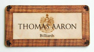 lasercut wood label
