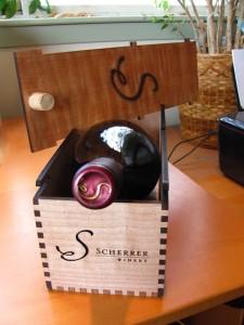 Scherrer Winery box