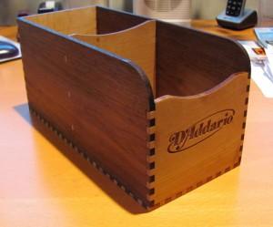 D'Addario string box