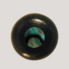 Ebony Bridge Pin w/ Abalone dot
