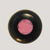 Ebony Bridge Pin w/ Rhodenite dot